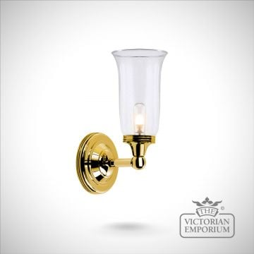 Bathroom wall light - Austin 2 in polished brass