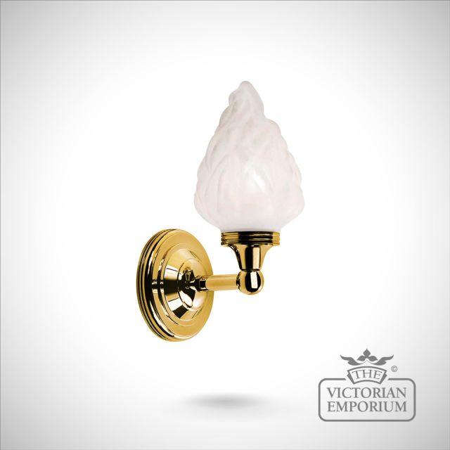 Bathroom wall light - Austin 3 in polished brass