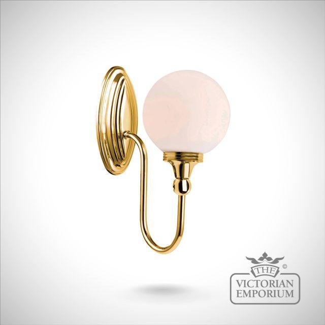 Bathroom wall light - Blake 4  in polished brass