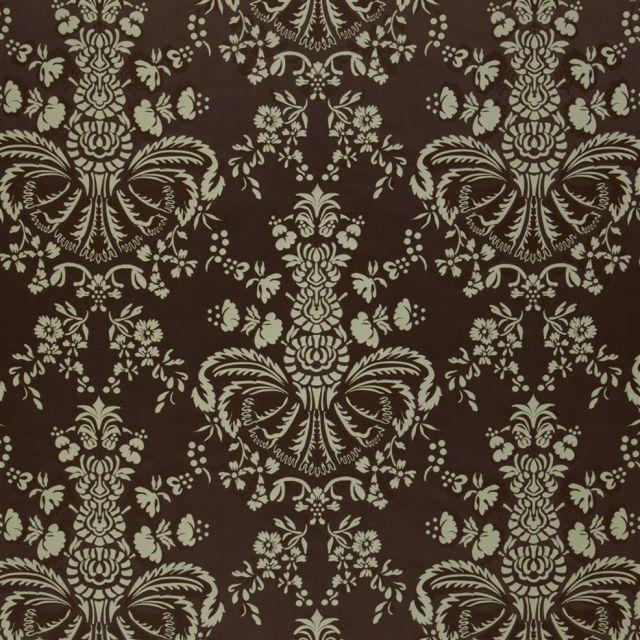 Briolette Fabric in Mahogany