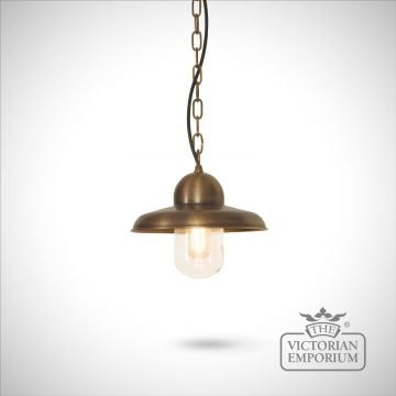Somerton chain lantern - brass