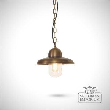 Somerton chain lantern - brass