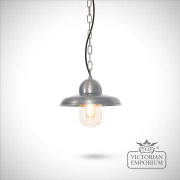 Somerton chain lantern - antique nickel