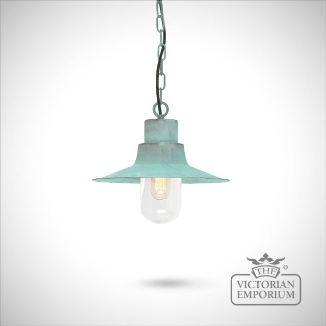 Sheldon chain lantern - vert