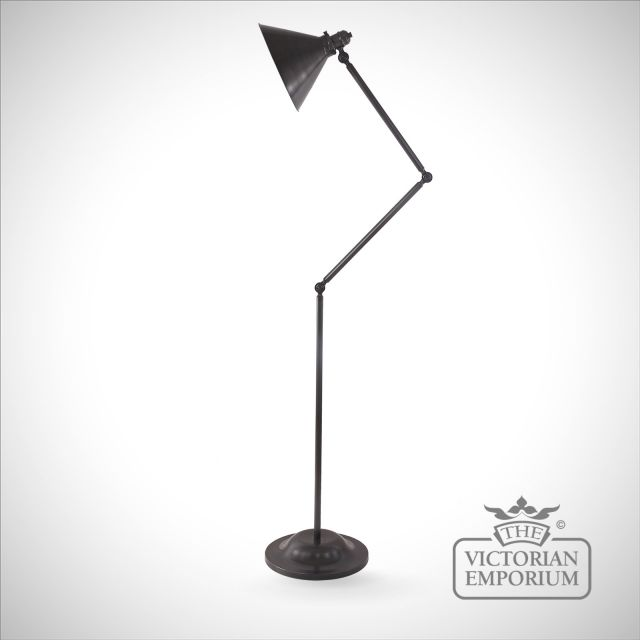 Provence floor lamp in Old Bronze