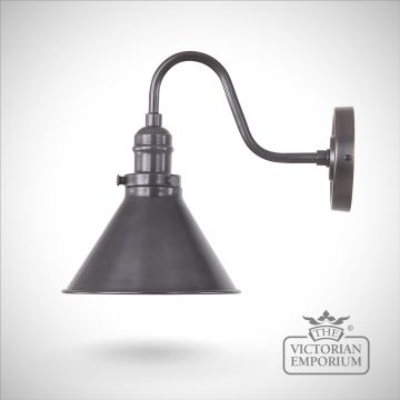 Provence wall light in Old Bronze
