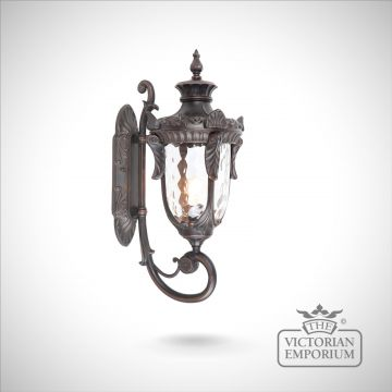 Philadelphia up wall lantern in Old Bronze - choice of 3 sizes