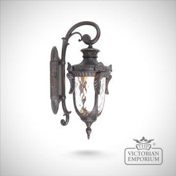 Philadelphia down wall lantern in Old Bronze - choice of 3 sizes