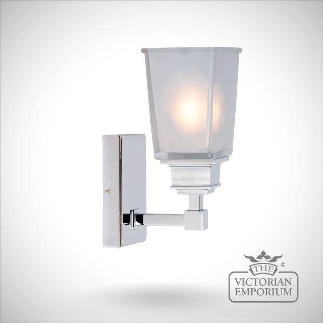 Aylesbury chrome wall light
