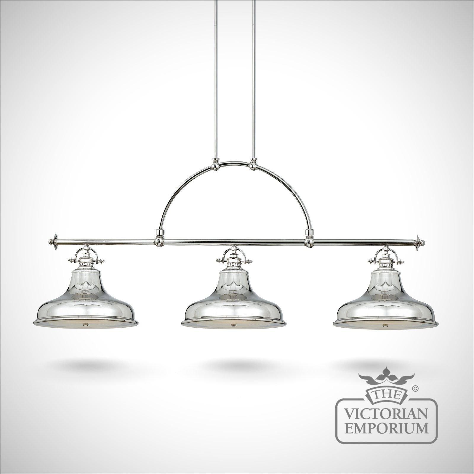 metallic pendant lighting design discoveries. Emerey Triple Island Light In Silver Metallic Pendant Lighting Design Discoveries P