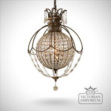 Bellini small 3 light chandelier