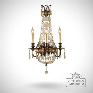 Bellini 4 light chandelier