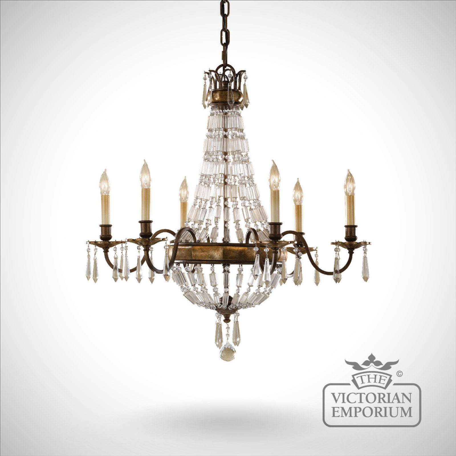 Bellini 6 Light Chandelier Interior Ceiling And Hanging