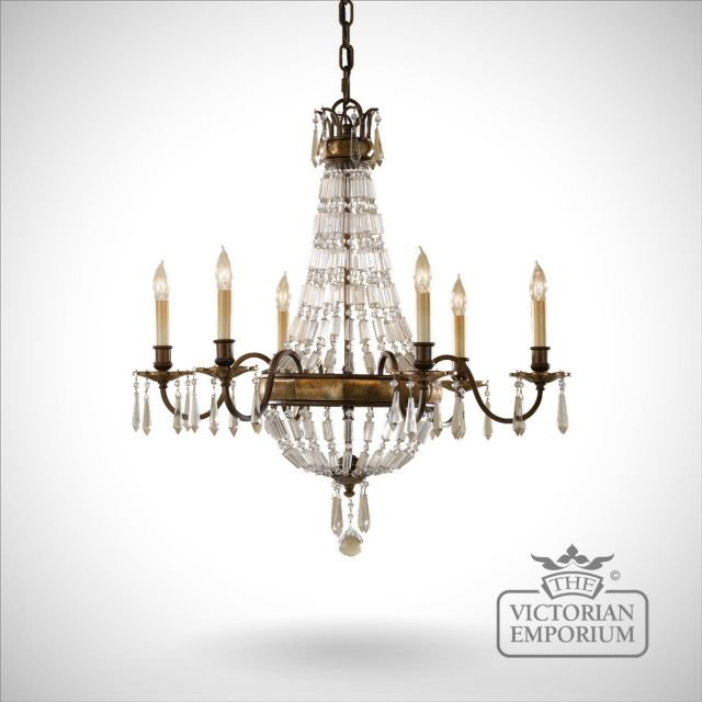Bellini 6 light chandelier