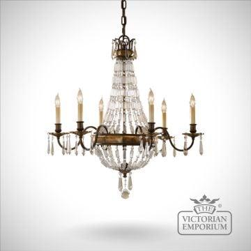Bellini 6 light chandelier
