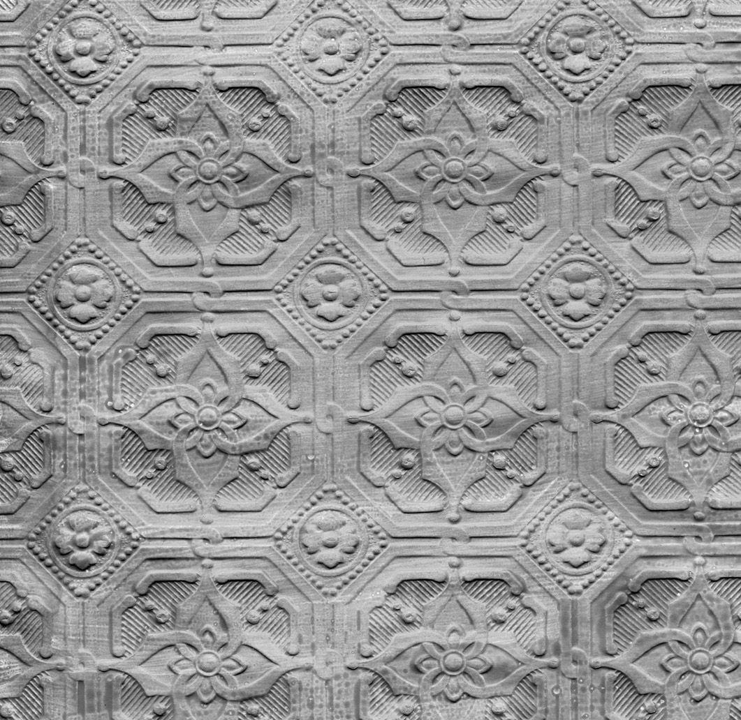 paintable textured wall border