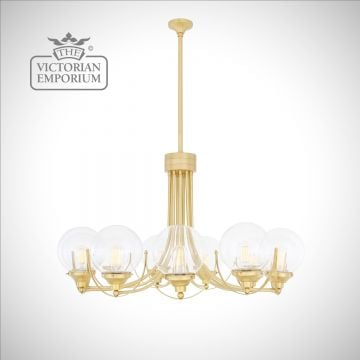 Wilma Large Globe Chandelier with 11 arms
