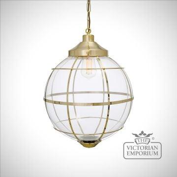 Henlow Glass Globe Pendant Light