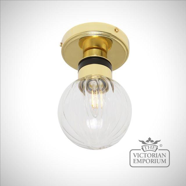 Ayr Small Bathroom Flush Ceiling Light