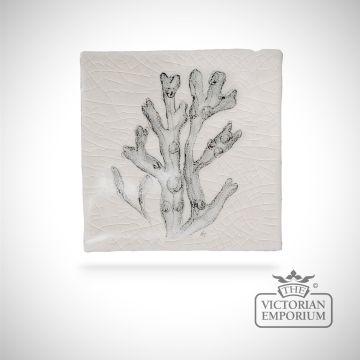 Hand painted tile 6.3x6.3cm - coastal and moorland bird 2