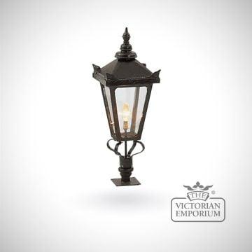 Medium square tamar lantern with Wall top base