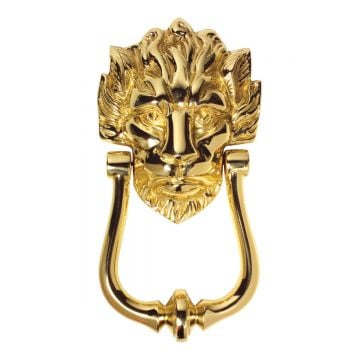 Lion head door knocker 2