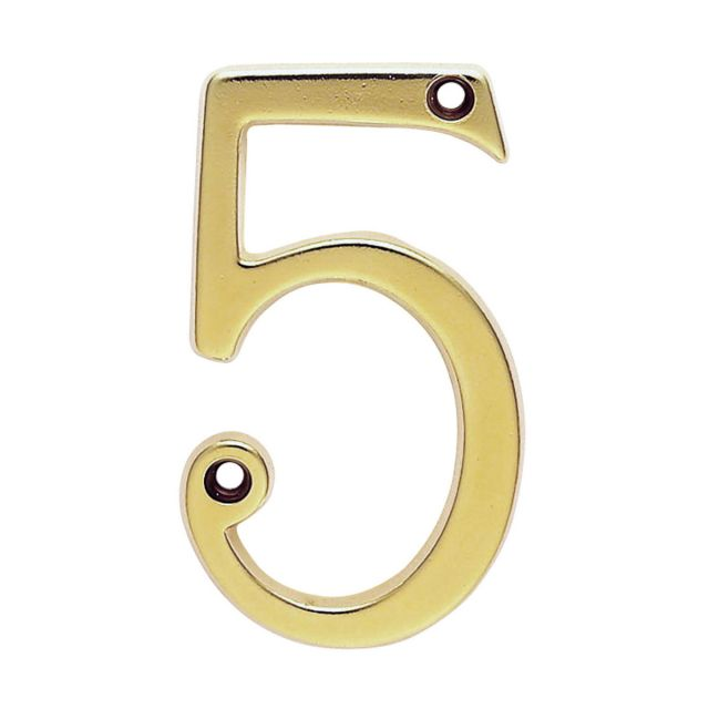 Numerals in Roman Typeface - House Numbering for Outside Doors and Gates