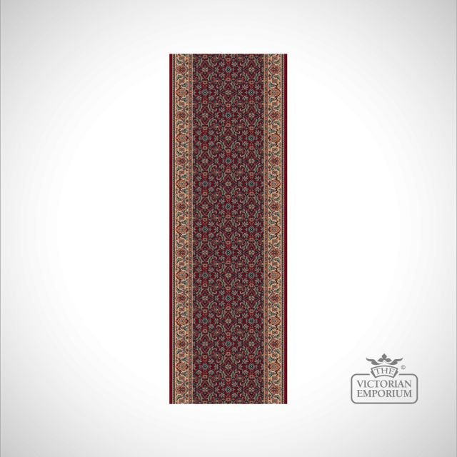 Victorian Stair Carpet Runner - style KO1137 in choice of 4 different colourways