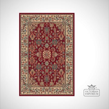Victorian Rug - style RO1630 Red