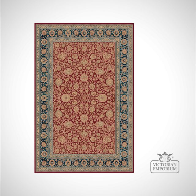 Victorian Rug - style RO1627 Red