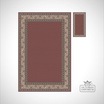 Victorian Rug - style KA12264 Red