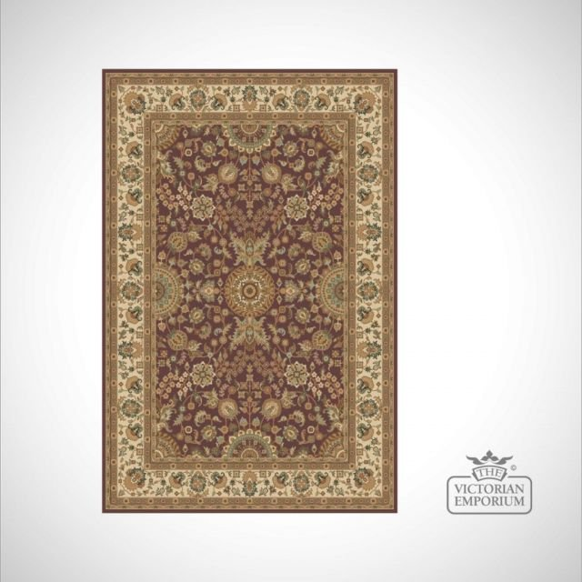 Victorian Rug - style KM4149 in Ruby
