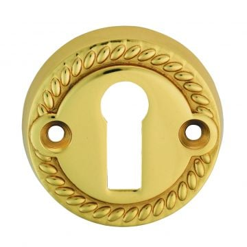 Escutcheon standard keyway