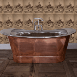 Traditional Copper Bath