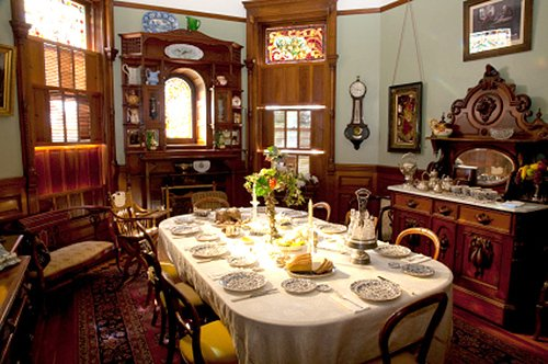 Dining Room Victorian Dinner Party